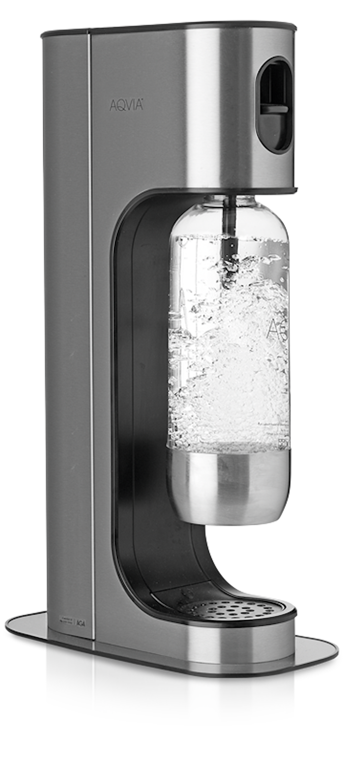 Exclusive Black Steel Sodavandsmaskine