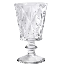 DIAMOND whitewine glass, clear