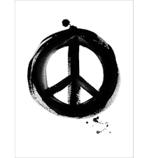 Dream of peace poster 30x40