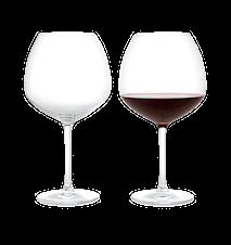 Premium Rödvinsglas 93 cl klar 2 st.