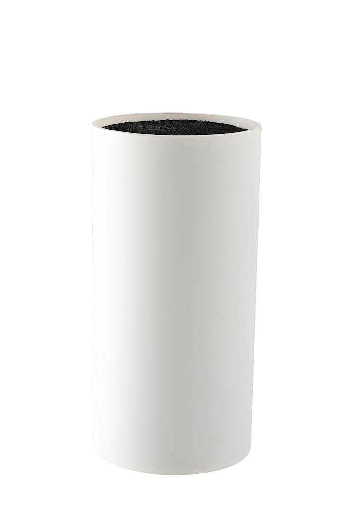 Knivblokk Vit 22,5 cm