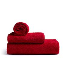 Mafalda Lite Håndkle, Rød