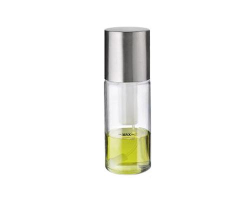 Oljeflaska/vinägerflaska II spray klar/stål - 19 cm