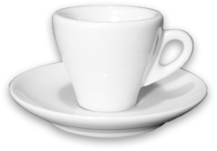 Torino espressokopp med fat