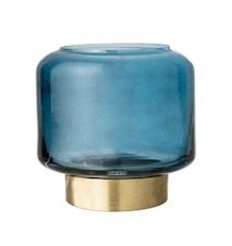 Tuikkulyhty Sininen Jäätelö Ø8x8 cm