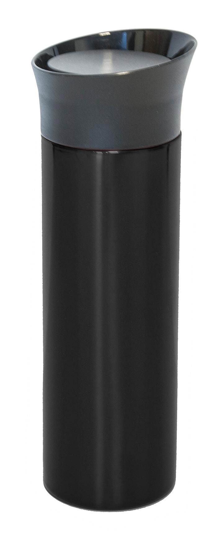 Bilmugg rak stor svart