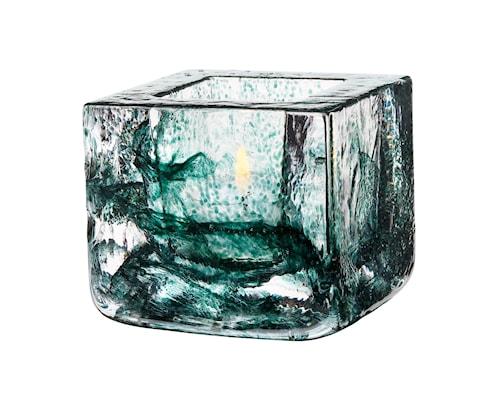 Brick Ljuslykta Grön Ø 8,5 cm