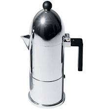 La Cupola Espressobryggare Svart 6 koppar