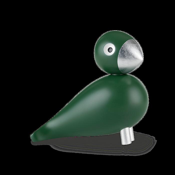 Sangfugl Georg grøn/sølv