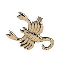 Stjärntecken Skorpion, mässing, servettring