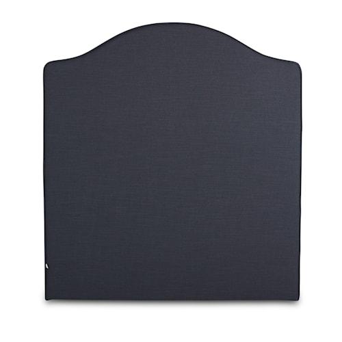 Carlita linne hodegavl - Mørkegrå 90x140
