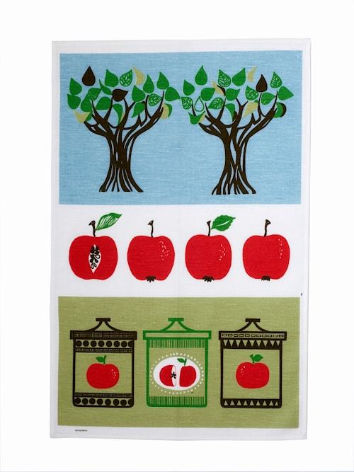 Äppelsylt Kökshandduk Röd