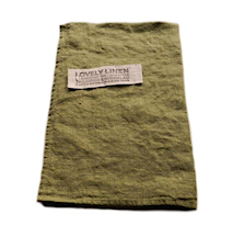 Lovely linen towel handduk
