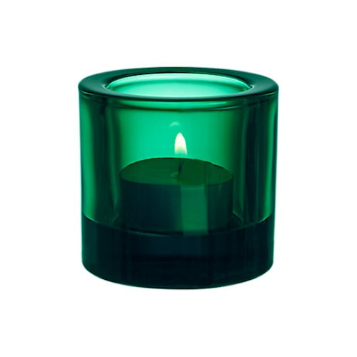 Kivi ljuslykta 60mm smaragd/presentfrp