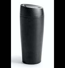 Bilkrus med låsbar trykkfunksjon, svart