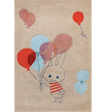 Balloon Rabbit barnmatta