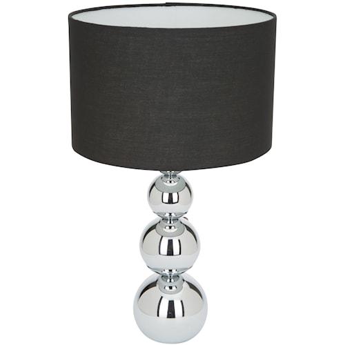 Bordslampa touch & dim L Svart