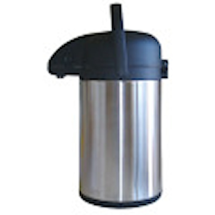 Rustfri pumpetermos 1,6 L