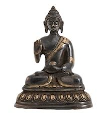 Buddha M 15 cm Svart