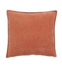 Kuddfodral Brand Orange Sammet 50x50cm