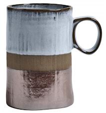 NOSTALGIC mug, white top, L, 400ML