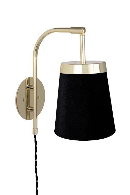 Vägglampa Walther - Svart