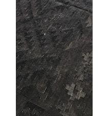 Kelim Natur Svart Matta 200x300 cm