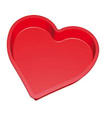 Kakeform Hjerte