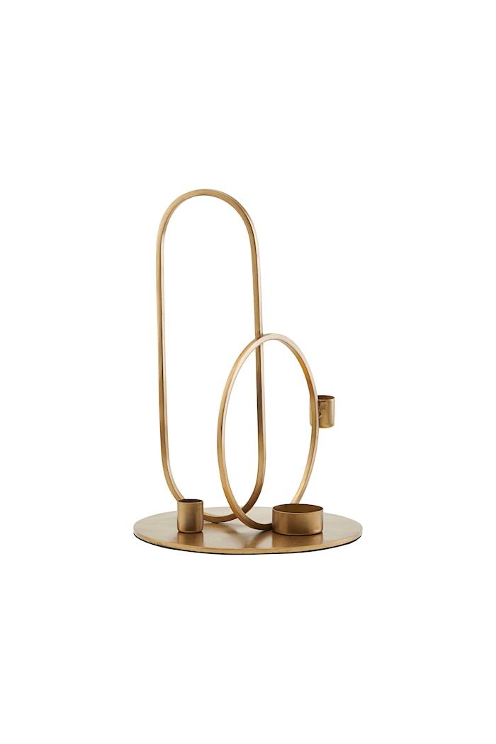 Ljusstake Cirque Brass H30 cm