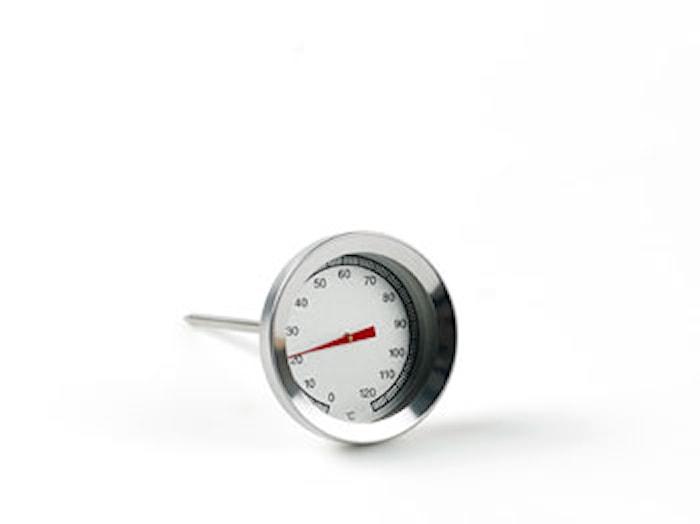 Stektermometer rund 530 Stål
