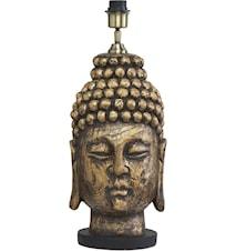 Buddha Lampfot Antik mässing 54cm