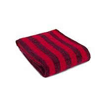 Badhandduk New stripe Royal Touch Red/red