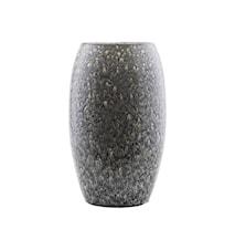 Vase Plain Ø 22x36 cm - Grå/Blå