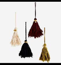 Cotton tassels w/ bell