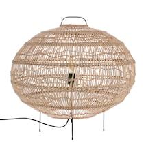 Korg golvlampa Oval Form