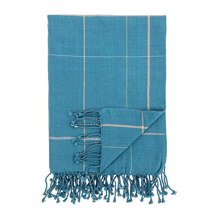 Viltti Puuvilla Sininen 170x130 cm