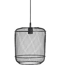 Grid tak/fönsterlamp Svart 27cm