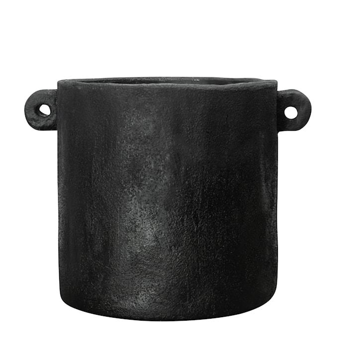 Charcoal Kruka Svart 35cm