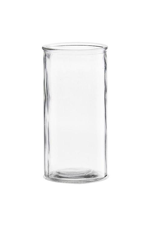 Vas Cylinder Ø 10x20cm Klar