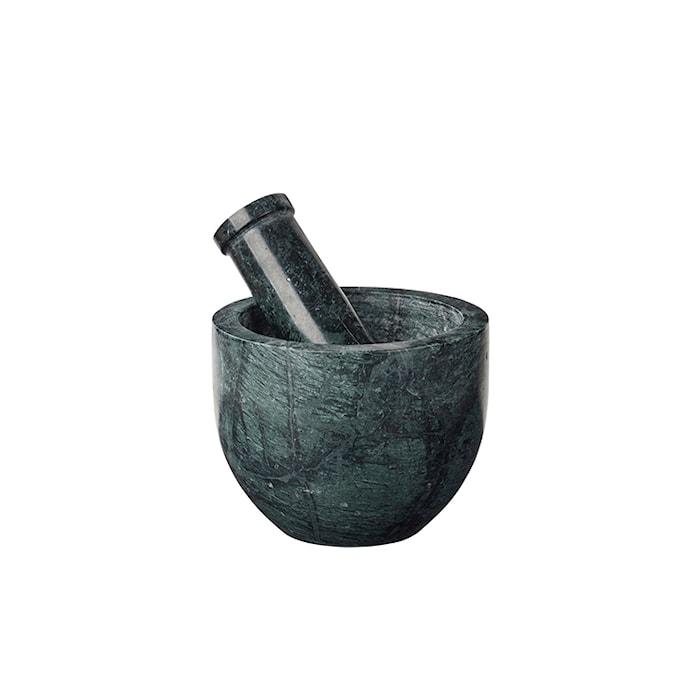 Mortel Grön Marmor Ø 13cm