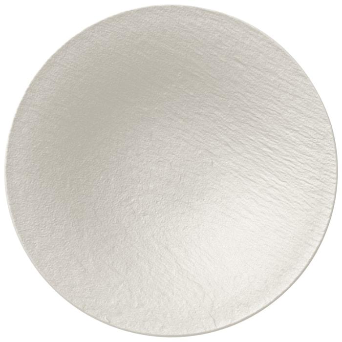 Manufacture Rock Blanc Djup Tallrik