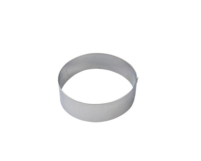 Pepperkakeform Ø8cm Stål, Ring
