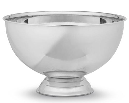 Champagneskål blankt stål enkel