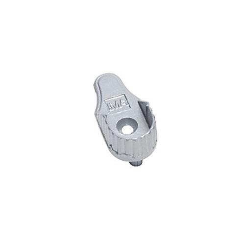 Fäste för klädstång cc32 - Silver