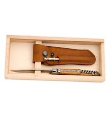 Lommekniv med korketrekker