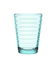 Aino Aalto glass 33 cl vanngrønn 2-pakk