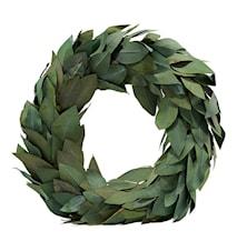 Julkrans Grön (Färgen kan variera beroende på bladen) dia: 45 cm
