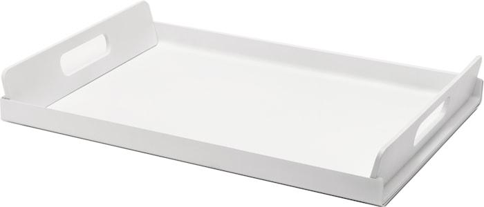 Vassily Tarjotin 45x30 cm Valkoinen/Kiiltävä