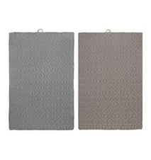 Handduk Elm 2-pack Mirage grey