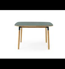 Form Bord Grønn/Eik 120x120 cm